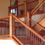 custom staircase in summit county real estate listing