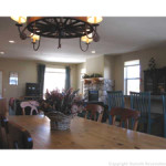 dining room view inside home for sale in silverthorne colorado