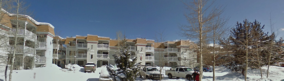 exterior view of tannhouser condos for sale in breckenridge